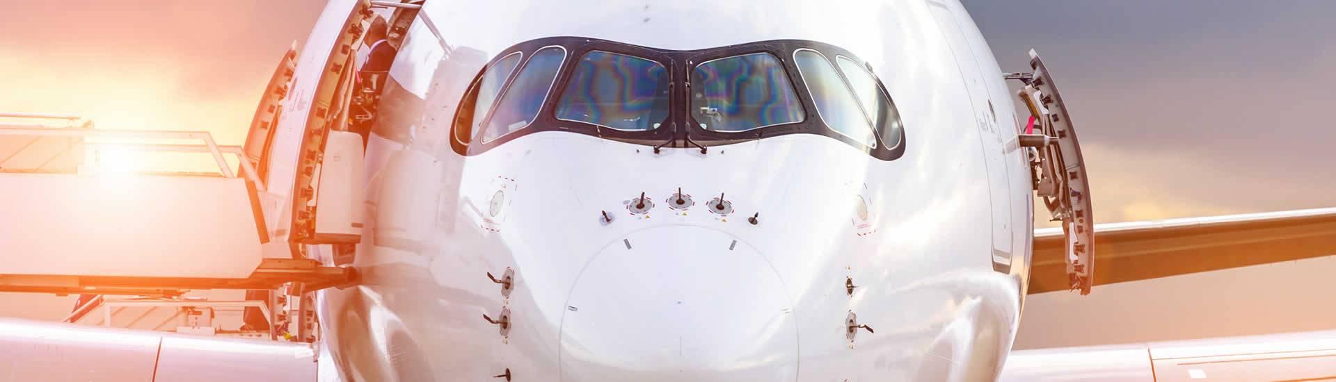 Aviation Flugzeugfront